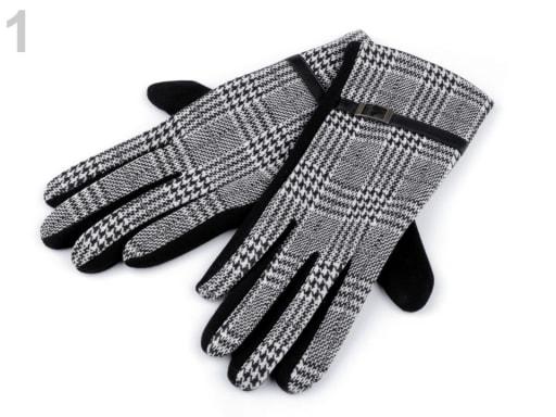 59c1deb799d Dámské pletené rukavice s lurexem Capu
