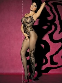 Výprodej Body  Bodystocking F205