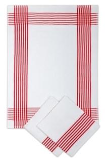 Utěrky vaflové červené 50x70 cm - 3 ks 67b84b5f84