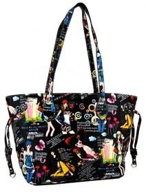 Ležérní kabelka na rameno Z005 černá b37ea5b12a9