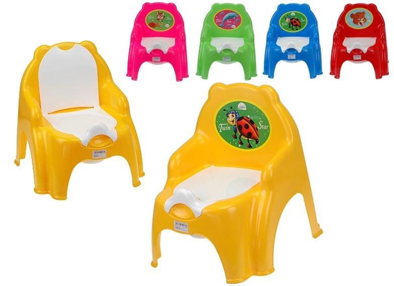 _Ostatní 1_ Židlička s vyjímatelným nočníkem - fialová