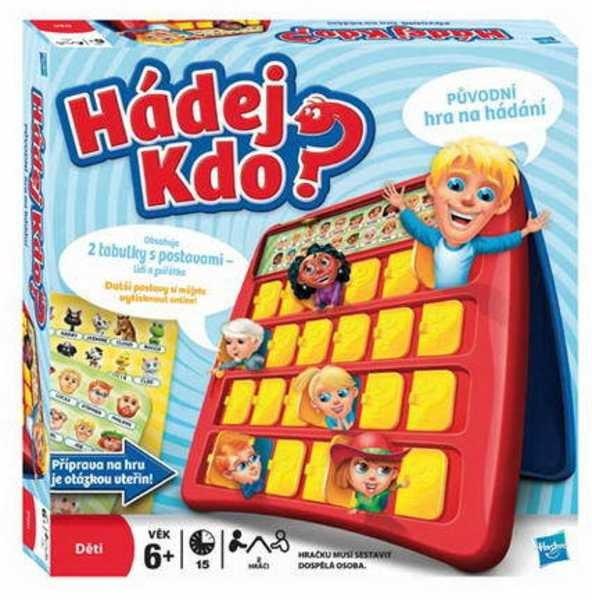 Hasbro HASBRO Hra Hádej kdo? Nová verze!!!