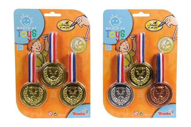 Simba Medaile 3 kusy na kartě