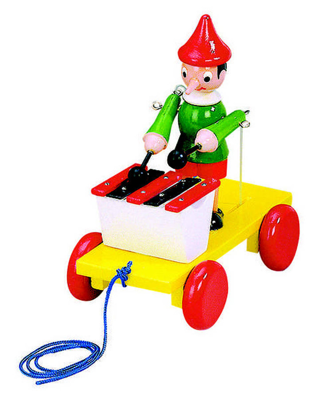 Bino Tahací Pinocchio xylofon