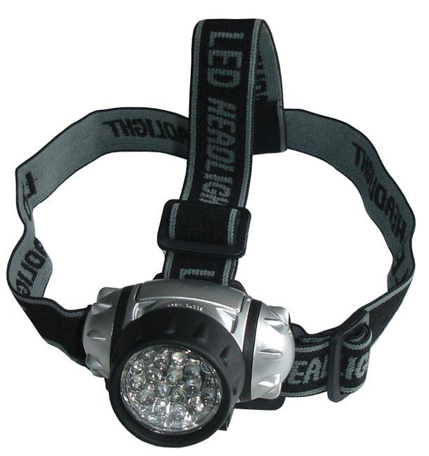 Acra Čelová svítilna - čelovka 21 LED