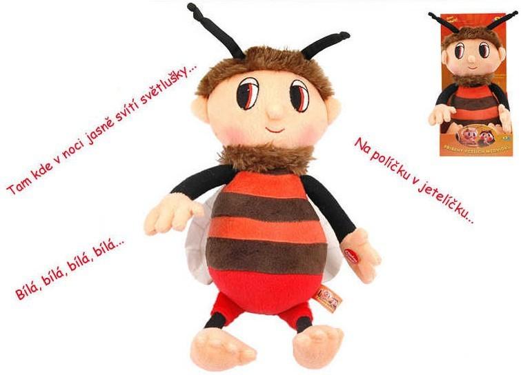 _Ostatní 1_ Příběhy včelích medvídků Brumda 29 cm s písničkami