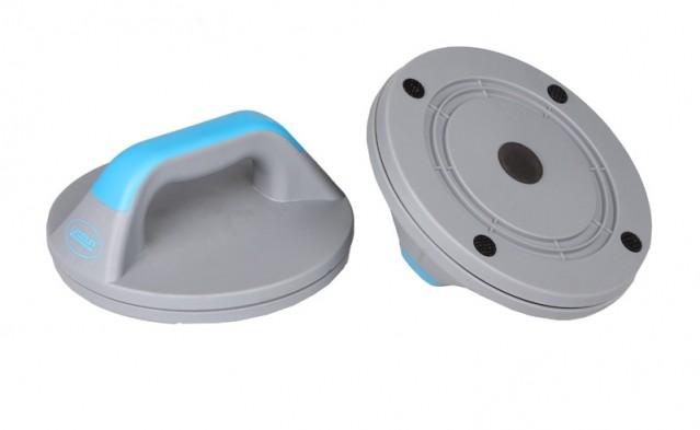 LiveUp Opěrka na kliky plastová - od 1 ks - modrá