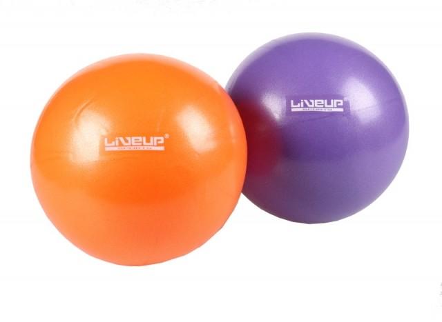 LiveUp Over ball LS3225 - fialová - 20 cm