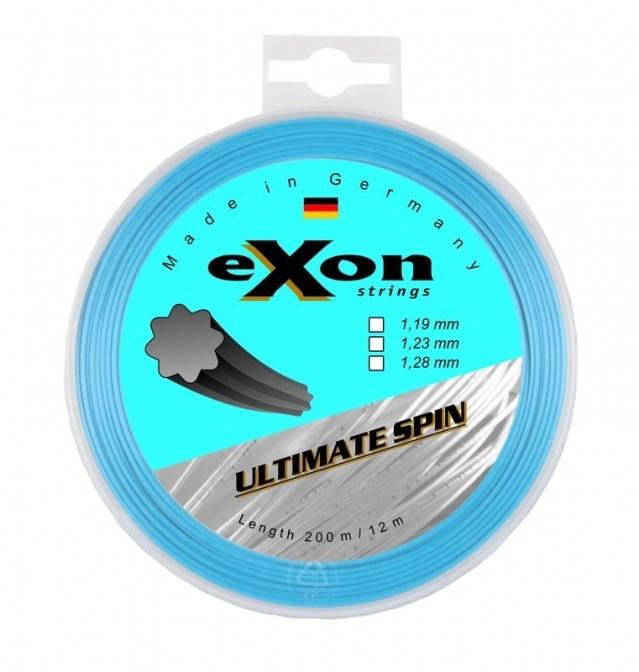 Exon Ultimate Spin tenisový výplet 12m - bílá - 1,19