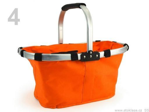 Stoklasa Nákupní skládací košík (1 ks) - 4 oranžová