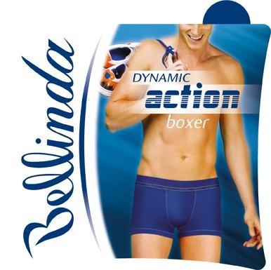 Bellinda Boxerky Action - červená - L