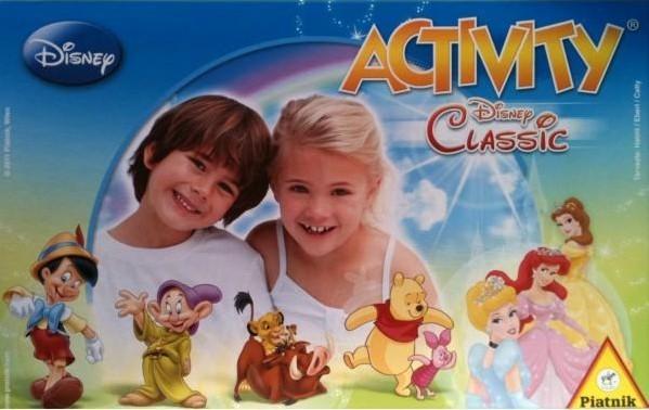 Piatnik Hra ACTIVITY Walt Disney My First