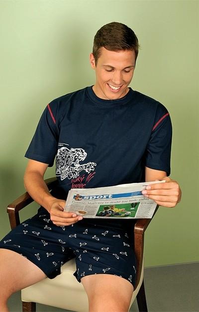 Andrie Pánské pyžamo PS 9183 - červená - XXL