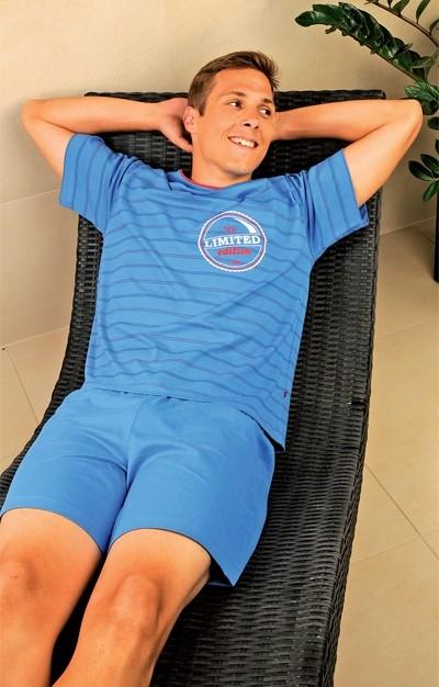 Andrie Pánské pyžamo PS 9199 - modrá - M