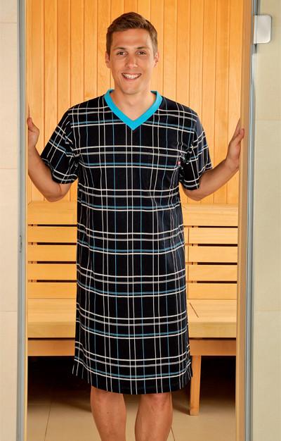 Andrie Noční košile PS 9188 - šedá - M