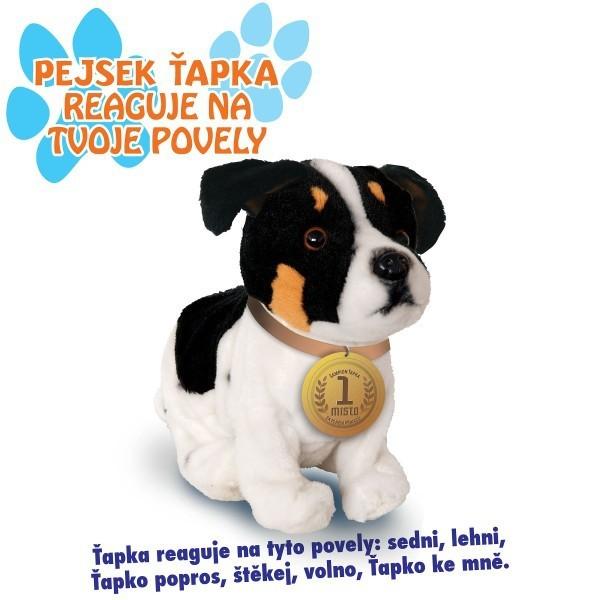 _Ostatní 1_ Plyšový pes Jack Russel interaktivní