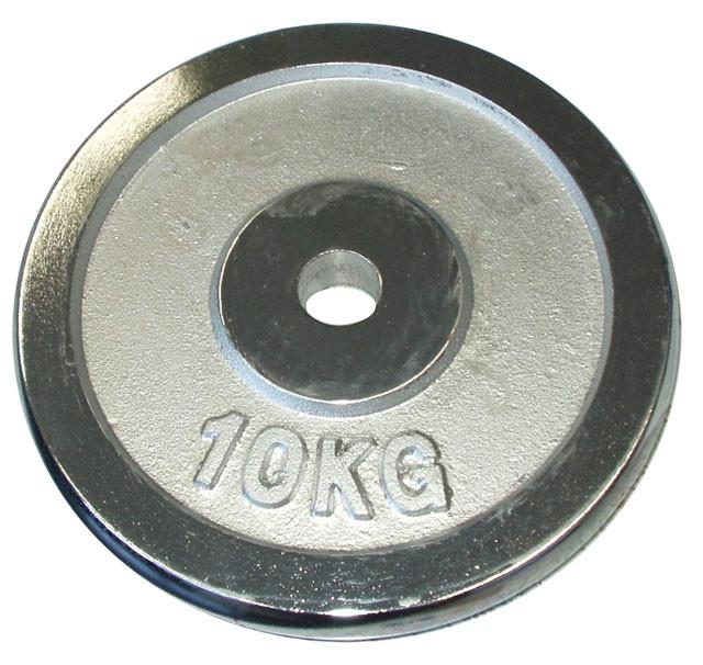 Acra Kotouč chrom 10 kg - 30 mm