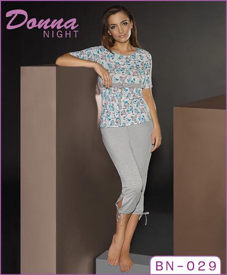 Donna prádlo Pyžamo BN 029 Donna - dle obrázku - M