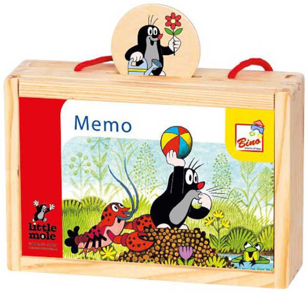 Bino Pexeso Memo KRTEK v krabičce Krteček