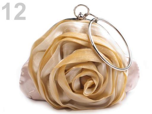 Stoklasa Slavnostní kabelka ROSE satén - 12 béžová nejsv.