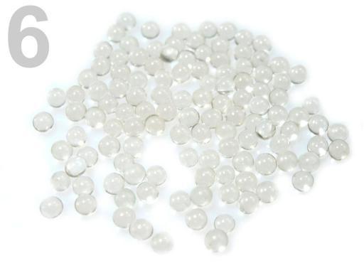 Stoklasa Vodní perly - gelové kuličky do vázy 4 g - 6 transparent