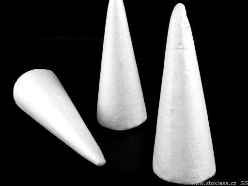 Stoklasa Kužel 95x245 mm polystyren - White