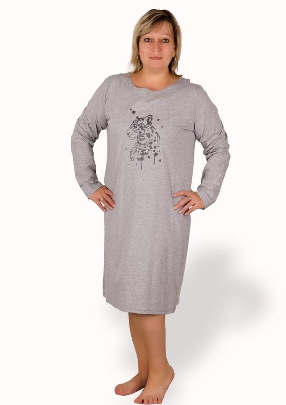 Taro Dámská košile nadměrné velikosti gepard - 310/ růžová - 2XL