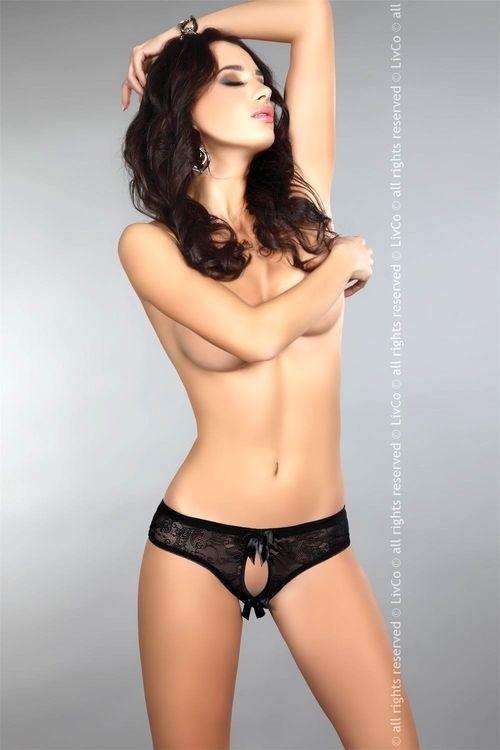 LivCo Corsetti Sexy kalhotky Jancis - černá - L