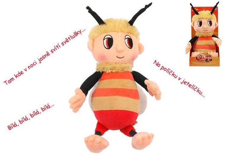 _Ostatní 1_ PLYŠ Příběhy včelích medvídků Čmelda 29 cm s písničkami - dle obrázku