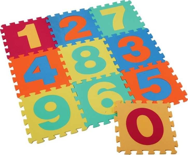 Měkké bloky / puzzle na zem 30 x 30 čísla - dle obrázku