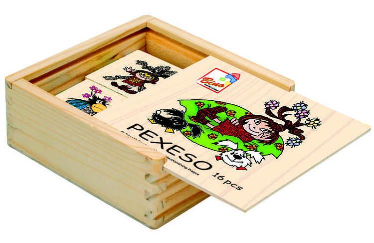 Bino Pexeso 16 ks pohádky - dle obrázku