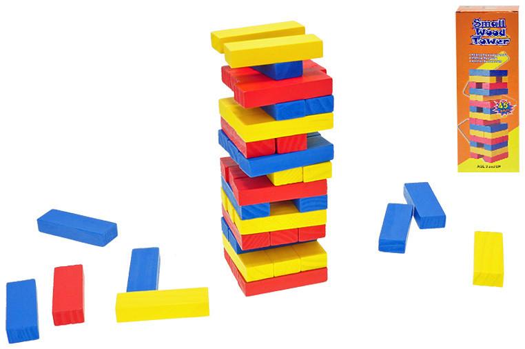 _Ostatní 1_ Hra Věž skládací 15 cm barevná