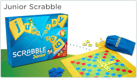 Mattel Hra Scrabble Junior