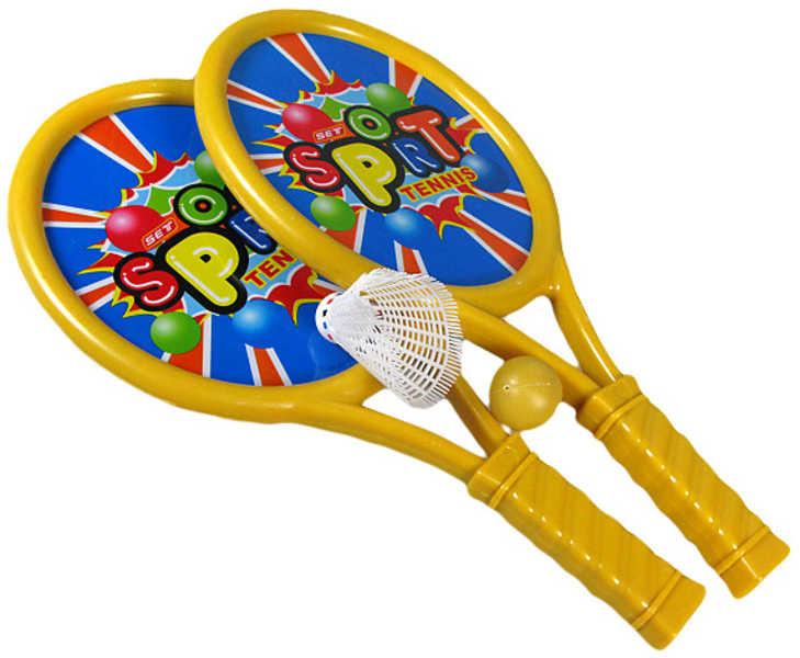 _Ostatní 1_ Pálky na líný tenis 40cm s míčkem SOFT TENIS - dle obrázku