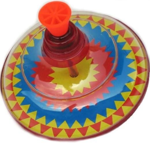 Mix hračky Káča velká kovová 17 x 15 x 15 cm