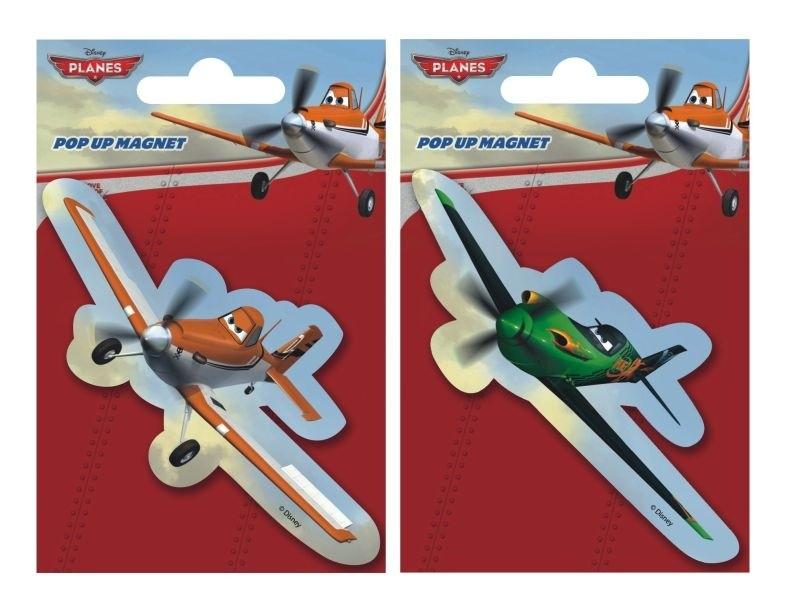 Rappa Magnetka PopUp PLANES - Letadla - fialová
