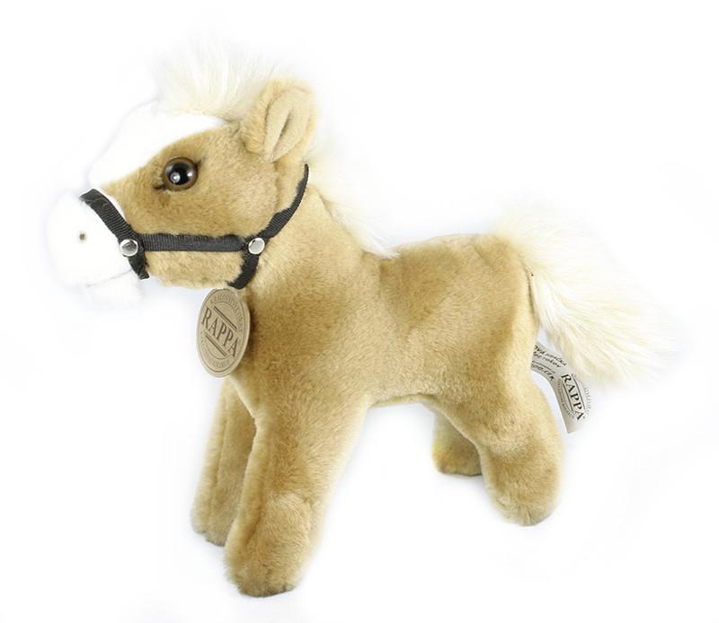 Rappa Plyšový kůň stojící 19 cm - dle obrázku