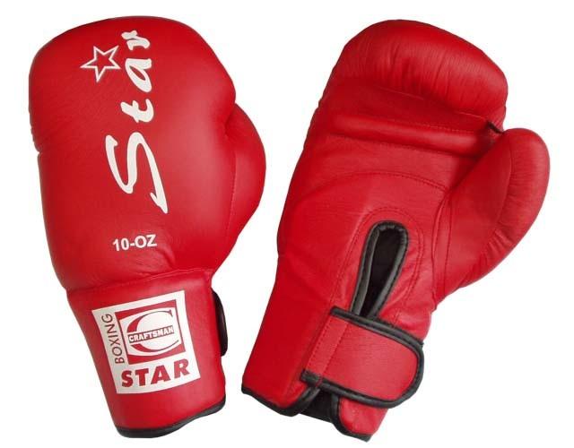 Acra Boxerské rukavice - PU kůže vel .XS - 6 oz. - černé