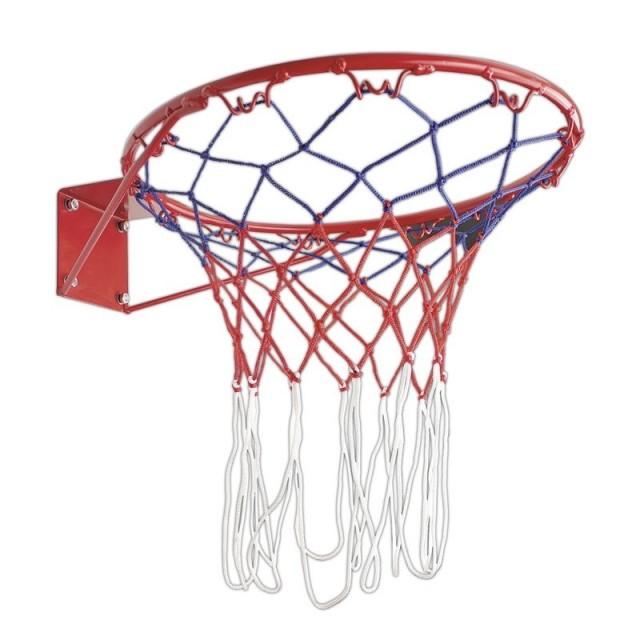 Spokey Cesto basketbalová obroučka se síťkou 37cm tl 10mm