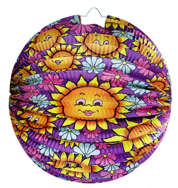 Rappa Lampion koule ,slunečnice , 25 cm