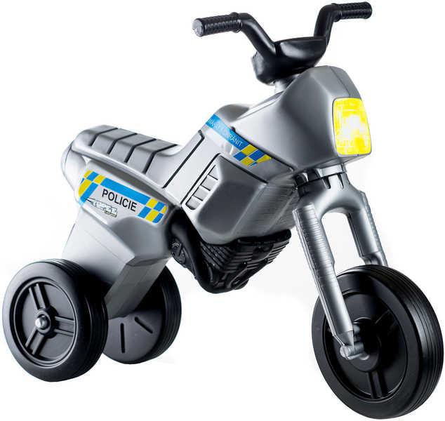 Mix hračky Odrážedlo Enduro YUPEE Policie VELKÉ