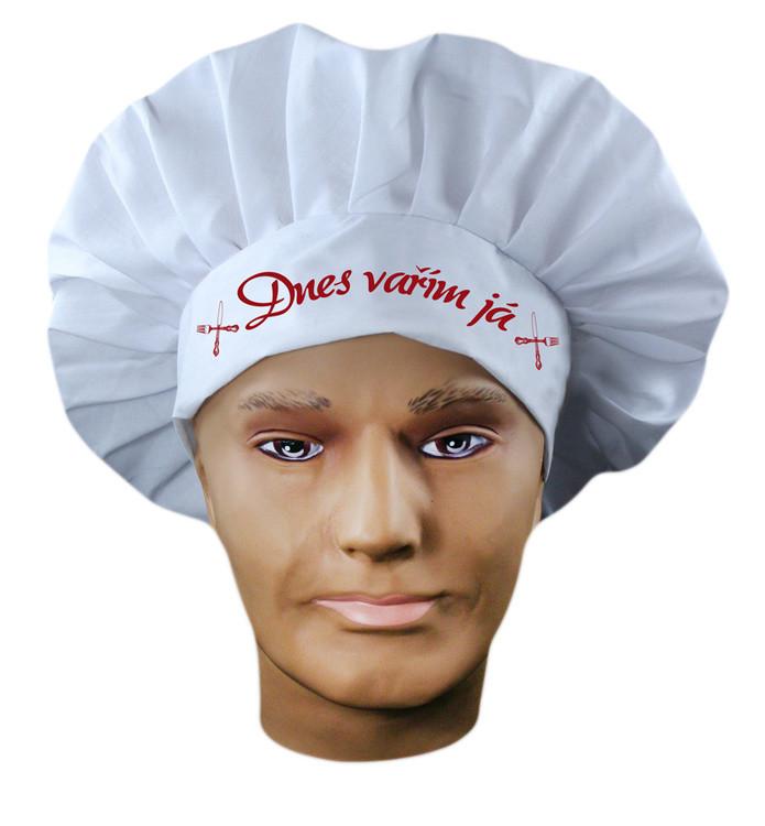 Rappa Čepice kuchař dospělý s nápisem