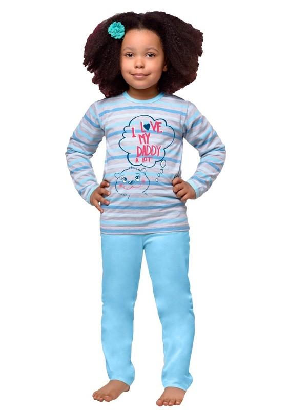 Taro Dětské pyžamo s nápisem I love my daddy - 280/ koral - 122