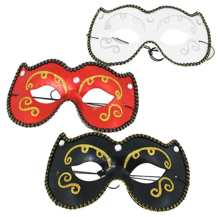 Rappa Maska oční kočka, 3 druhy - červená
