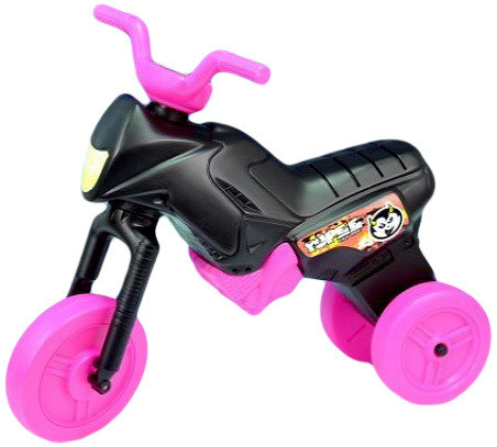 Mix hračky Odrážedlo EDNURO YUPEE černo růžové VELKÉ - dle obrázku