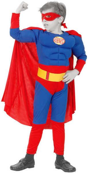 _Ostatní 1_ Dětský kostým Super hrdina 5-9 let