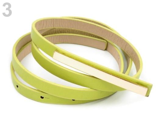 Stoklasa Dámský pásek 1x110 cm se sponou - 3 zelená sv.