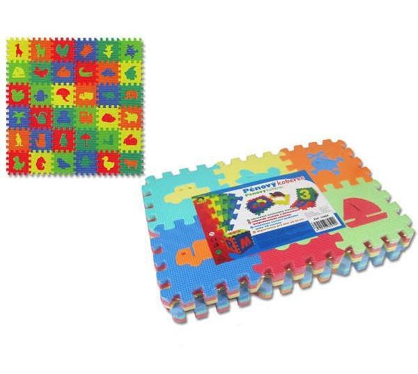 _Ostatní 1_ Měkké bloky / puzzle na zem 36 ks Doprava