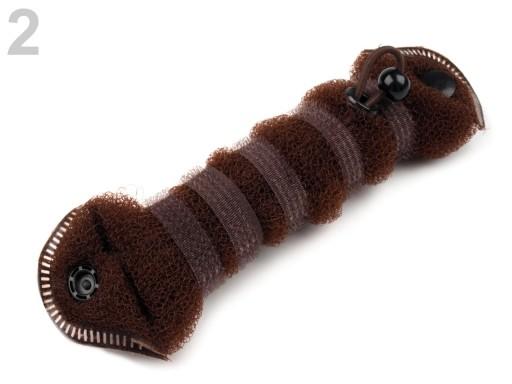Stoklasa Drátěnková spona na drdol 22 cm - 2 hnědá