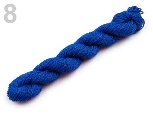 Stoklasa Šňůra PES Ø1 mm na navlékání korálků - 8 Dazzling Blue